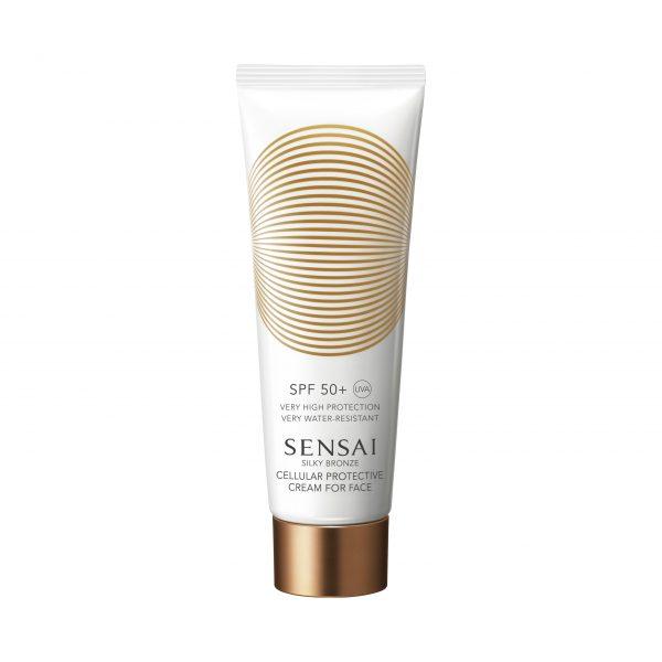 Sensai Silky Bronze – Cellular Protective Cream for Face SPF 50+